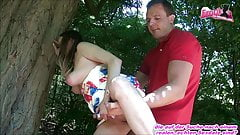 GERMAN HOUSEWIFE OUTDOOR PRIVATE PORNO - MOM HOMEMADE