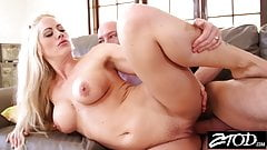 Big tit blonde MILF is getting revenge on her husband