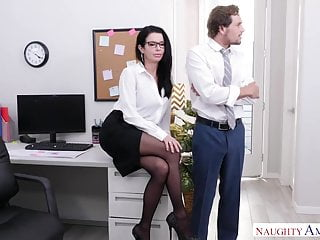 Office sex anal Naughty america demands office anal sex