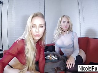 Watched jerk off Alix and nicole make sure you jerk off while they watch