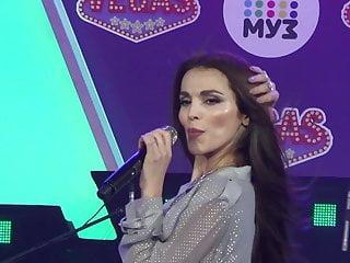 Boob in tv Russian singer nip slip in tv show