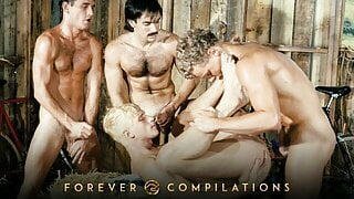 Top 10 Vintage 80s Gay Porn Scenes Compilation