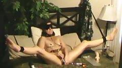 Spycam Self Anal Hooked Soccer Mom Masturbating