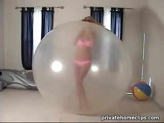 Balloon girl nude Beautiful girl trapped in a balloon