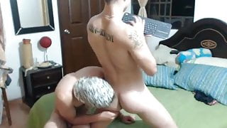 2 Boys mit Webcam