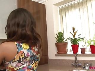 Free ebony stepdaughter porn Cheating busty ebony stepdaughter