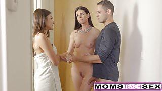 Step-Mom India Summer Caught With Teens Boyfriend