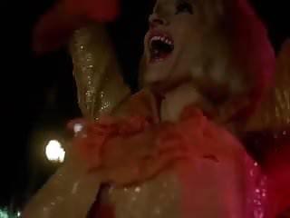 Sex for over 60 s Girl in the golden bikini - vintage 60s striptease dance