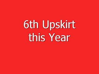 6th sluts 6th upskirt this year