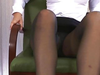 Fetish fanatic white lovers - Fanatic pantyhose footjob
