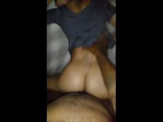 Lightskin gets fucked - Lightskinned thot getting fucked throwing that ass back