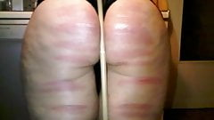 Hard caning in new kitchen with control red marks