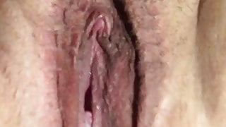 Counting to 20. Pussy lip torture.