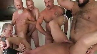 Daddies Bareback Sling Sex Party