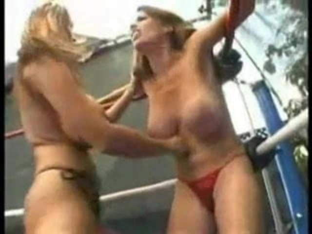 Rough Lesbian Trib Wrestling