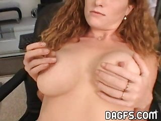 Redhead anal big tits - Busty redhead anal fuck