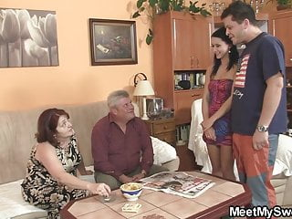 Innocent young girls xxx Innocent girl is seduced by granny and fucked by daddy