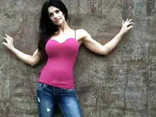 Denise milani naked pictures Denise milani rock wall - non nude