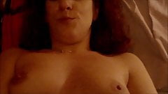 she enjoys with 2 dildos in her pussy