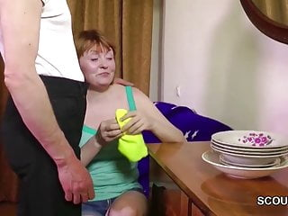 Fuck hairy mom Daddy seduce hairy mom to fuck her first time anal