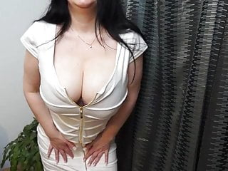Big breasts milf stories - Hot british milf effectuation with her big breasts