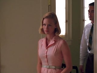 Mad men girls naked January jones - mad men s1e11