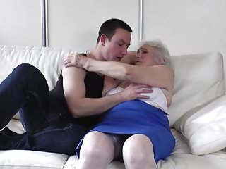 Boy dick and them having sex - Granny with hairy cunt having sex with boy