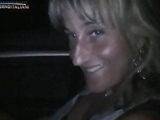 Blonde italian milf tube Italian milf - dildo in car