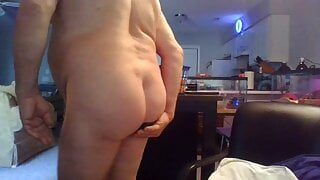 Just waking up with a dildo in my ass
