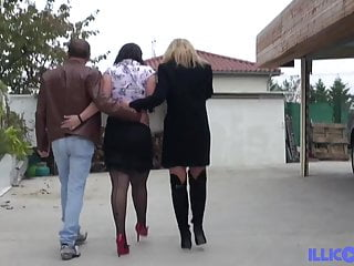 Sabrine maui fucking - Sabrine loves to get two cocks in the ass