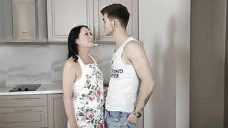 SHAME4K. Naughty dudes dream is to have an affair with besti