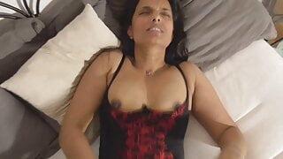 caught sister masturbating and fucked. Part 2