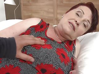 Erotic grandmother Busty grandmother suck and fuck young boy