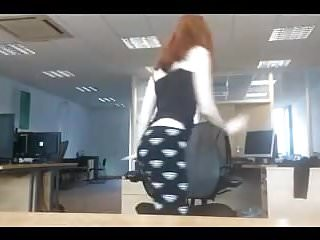 Young teen candid exposures - Camgirl office exposure