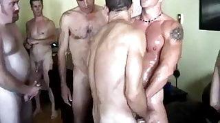 Rammin' Orgy (A Cowboy Gang Bang)