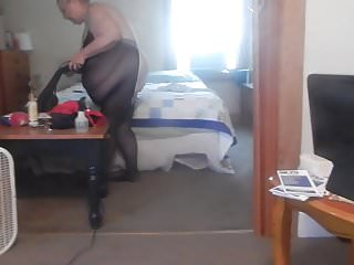 Sexy women cleaning house Cleaning house body stoking