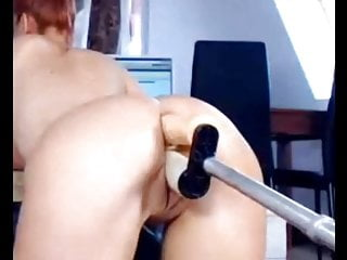 Double fucking machine Amateur double fucking machine, fuck cunt and anal