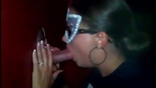 Homemade swinger party gloryhole