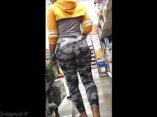Camo lingerie site Perfect booty latina teen in camo leggings