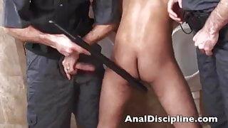 Hot naughty officer