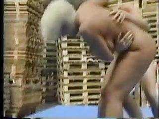 Naked sports starts Naked lesbian skank wrestling pt1