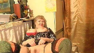 Beautiful Russian Granny Lelaniy - part 3