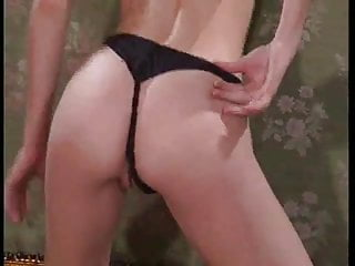 Anal strap lube - Anal strap on followed by a big dildo and a fist flourish