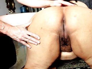 Bit ass nukka Zenaidas big bottom gets slapped a bit