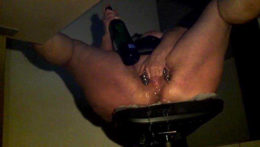 Hidden camera squirting