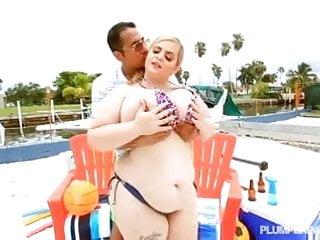 Hot bikini fuck Big titty white bbw sashaa juggs fucked in hot bikini