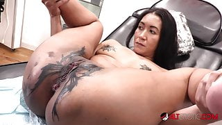 Sindy Ink Horny Tattoo Session