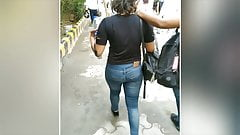 Sexy Indian ASS in Tight Jeans