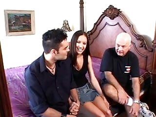 Shemale bambam with black hair Hubby watches another man fuck his hot black hair wife in bed