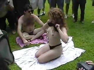 Adult motorcycle rallies - Fun at a nudist rally 17